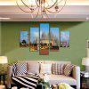 5PCS Print Taj Mahal Wall Decor for Home Decoration - MULTI