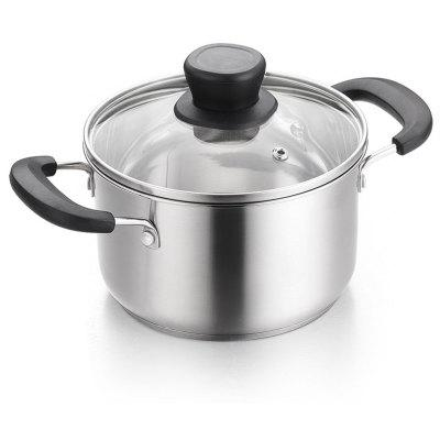 2L Stainless Steel Europe Style Soup Pot