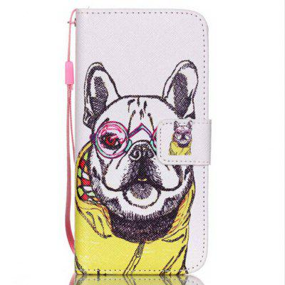 Lovely Dog Colored Drawing Phone Cover for iPhone 6 Plus / 6S Plus