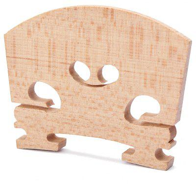 Maple 4/4 Violin Bridge