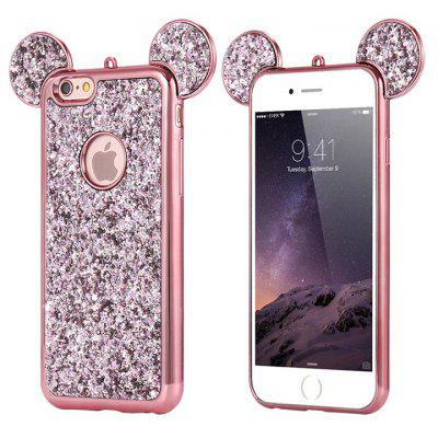Cartoon Sparkling Soft Silicone Case for iPhone 6 / 6S