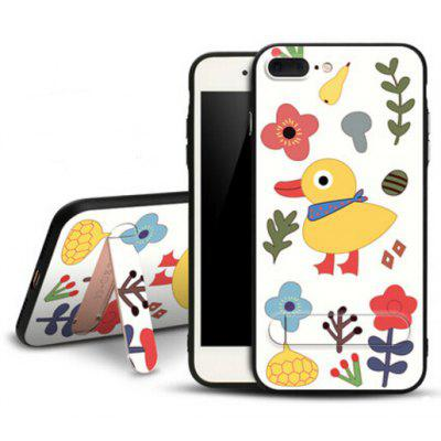 Buy COLORMIX Creative Colored Drawing Phone Cover for iPhone 7 Plus for $16.40 in GearBest store