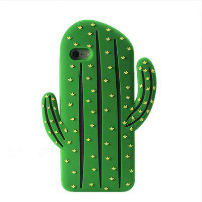 Buy GREEN Creative Silicone Prickly Pear Phone Cover Case for iPhone 6 Plus / 6S Plus for $3.83 in GearBest store