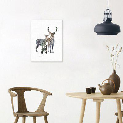 Canvas Print Painting Elk Home Decoration Wall Pictures
