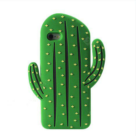 GREEN Original Silicone Prickly Pear Phone Cover Case for iPhone 6 / 6S