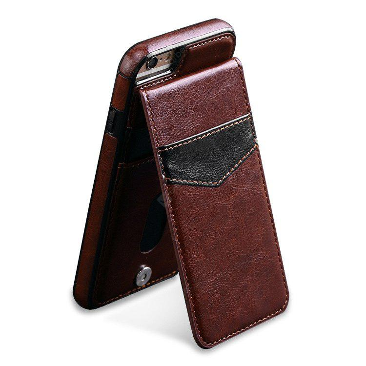 BROWN High Range TPU Leather Phone Cover for iPhone 6 / 6S