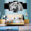 Canvas Print Painting White Tiger Home Decoration - COLORMIX