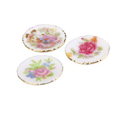 1:12 Scale Doll House Miniature Ceramic Plate Toy SetPretend Play<br>1:12 Scale Doll House Miniature Ceramic Plate Toy Set<br><br>Age: Above 3 Years<br>Package Contents: 1 x Set of Dollhouse Ceramic Plate Toys<br>Package size (L x W x H): 4.00 x 4.00 x 3.00 cm / 1.57 x 1.57 x 1.18 inches<br>Package weight: 0.0620 kg<br>Product size (L x W x H): 2.00 x 2.00 x 0.50 cm / 0.79 x 0.79 x 0.2 inches<br>Product weight: 0.0100 kg<br>Type: Pretend Play