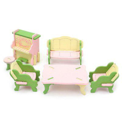 6pcs Emulational Kids Miniature Wooden DollhousePretend Play<br>6pcs Emulational Kids Miniature Wooden Dollhouse<br><br>Material: Wood<br>Package Contents: 1 x Set of Living Room Furniture Toys<br>Package size (L x W x H): 20.00 x 10.00 x 8.00 cm / 7.87 x 3.94 x 3.15 inches<br>Package weight: 0.1050 kg<br>Product weight: 0.0700 kg<br>Type: Pretend Play