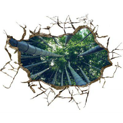 3D Bamboo Forest Design Home Decor  Sticker