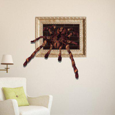 3D Spider Design Home Decor Sticker
