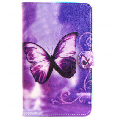 Butterfly Pattern Tablet Ultra Thin Case for Samsung Tab 4 T330