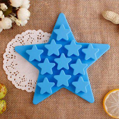 Five-pointed Star Silicone Chocolate Ice Mould