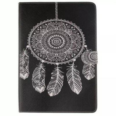Fashion Dream Catcher Pintado Funda de Cuero para Samsung Galaxy Tab A T350