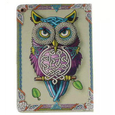 Owl Pattern Painted PU Leather Case for Samsung Galaxy Tab A T350