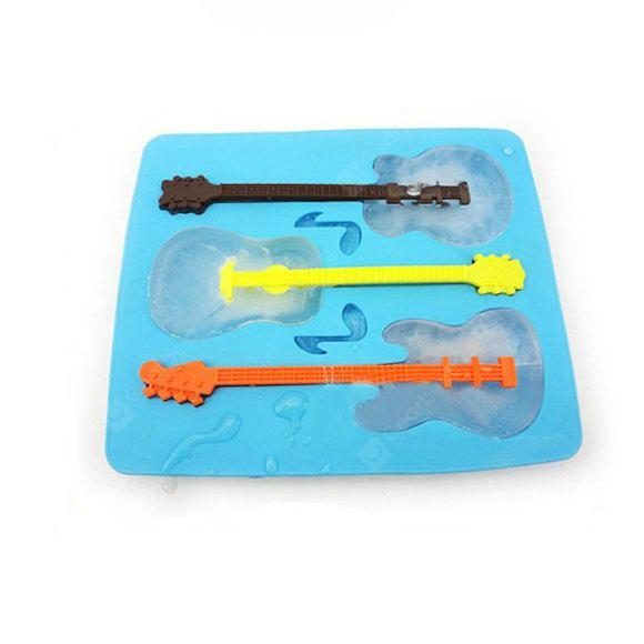 Silicone Guitar Style Ice Forma