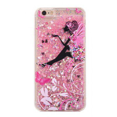 Butterfly Glitter Powder Phone Cover for iPhone 6 Plus / 6S Plus