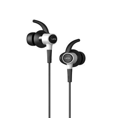 UIISII Hi - 710 In-ear Stereo HiFi EarphonesEarbud Headphones<br>UIISII Hi - 710 In-ear Stereo HiFi Earphones<br><br>Application: Running, Working, Sport, Gaming<br>Brand: UIISII<br>Cable Length (m): 1.2m<br>Compatible with: iPod, iPhone, Computer, Mobile phone, MP3, PC, Portable Media Player<br>Connectivity: Wired<br>Driver unit: 6mm<br>Frequency response: 20-20000Hz<br>Function: Song Switching, Voice control, Answering Phone, HiFi, Microphone<br>Impedance: 32ohms±15 percent<br>Language: No<br>Material: Plastic<br>Model: Hi - 710<br>Package Contents: 1 x Earphones, 1 x English Manual, 3 x Pair of Standby Earbud Tips ( L, M, S ), 1 x Pair of Standby Earbud Tips with Ear Wing, 1 x Storage Bag<br>Package size (L x W x H): 20.00 x 15.00 x 5.50 cm / 7.87 x 5.91 x 2.17 inches<br>Package weight: 0.1900 kg<br>Plug Type: 3.5mm, L-Bend<br>Product weight: 0.0170 kg<br>Sensitivity: 95 ± 3 dB<br>Type: In-Ear