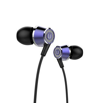 UIISII Hi - 820 In-ear Wired Stereo Bass EarphonesEarbud Headphones<br>UIISII Hi - 820 In-ear Wired Stereo Bass Earphones<br><br>Brand: UIISII<br>Cable Length (m): 1.2m<br>Compatible with: PC, Computer, Portable Media Player, iPod, Mobile phone, MP3, iPhone<br>Connectivity: Wired<br>Driver unit: 10mm<br>Frequency response: 20-20000Hz<br>Function: Microphone, Answering Phone, Voice control, Song Switching<br>Impedance: 32ohms<br>Material: Metal<br>Model: Hi - 820<br>Package Contents: 1 x Earphones<br>Package size (L x W x H): 23.00 x 12.00 x 4.00 cm / 9.06 x 4.72 x 1.57 inches<br>Package weight: 0.1700 kg<br>Plug Type: 3.5mm, Full-sized<br>Product weight: 0.0190 kg<br>Sensitivity: 99 ± 3dB<br>Type: In-Ear