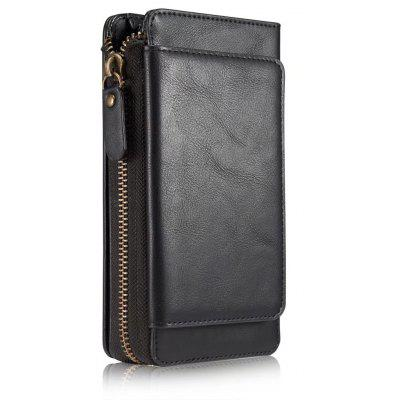 Leather Wallet Case for Samsung Galaxy S6