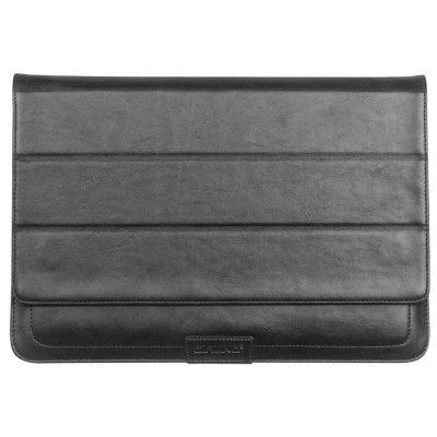 QIALINO Multifunctional PU Leather Protective Bag Case for MacBook