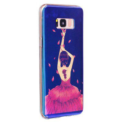 Girl Pattern Phone Cover Case for Samsung Galaxy S8
