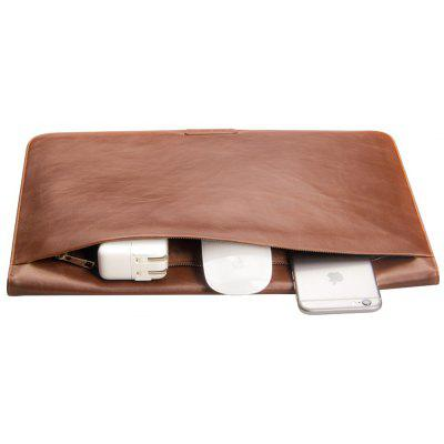 QIALINO Folding Stand PU Leather Cover para MacBook Air / Pro