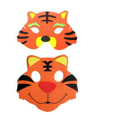 1pc EVA Performance Props Cartoon Mask of Tiger