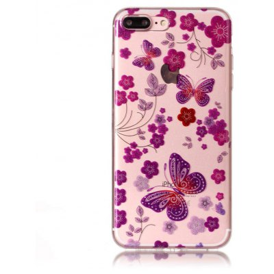 Buy COLORFUL Unique Butterfly Pattern Phone Case for iPhone 7 Plus for $3.17 in GearBest store