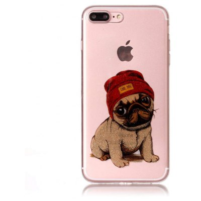 Lovely Dog Printed Phone Cover Case für iPhone 7 Plus