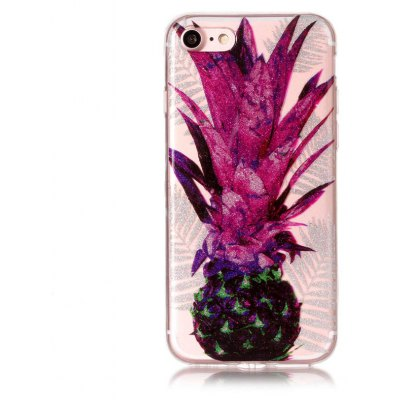 Trendy Pineapple Printed Phone Cover Case for iPhone 7