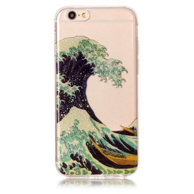 Wave Pattern Design Telefon Abdeckung für iPhone 6 / 6S
