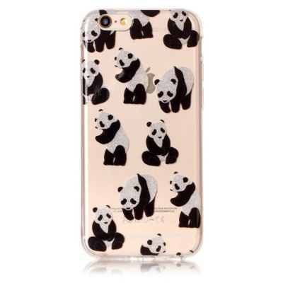 Cute Panda Printed Phone Cover Case for iPhone 6 / 6S