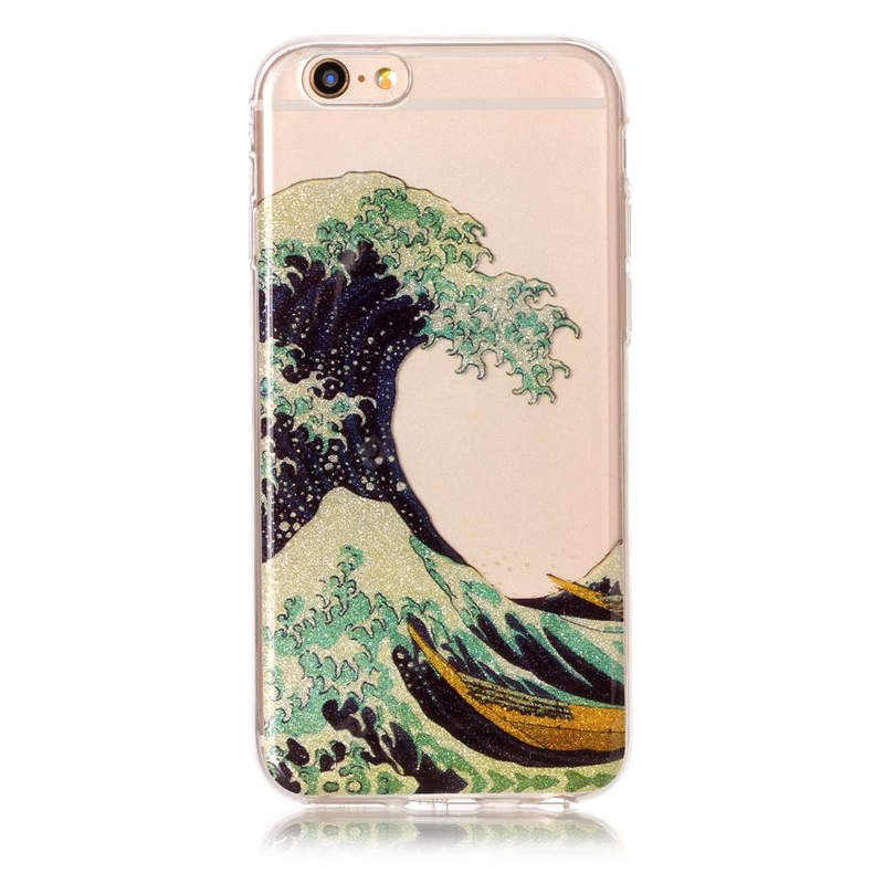 Wave Pattern Design Phone Cover for iPhone 6 / 6S