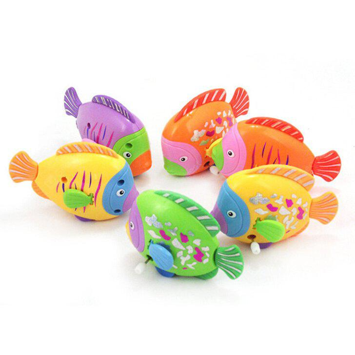 Swimming Ways Water Toys Colorful Wind Up Fish for Kids - $1.17 Free ...