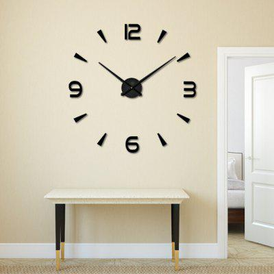 3D DIY Fashion Modern Digital Large Wall Clock