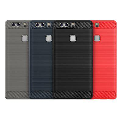 ASLING Durable Soft Protective Cover for HUAWEI P9 PlusCases &amp; Leather<br>ASLING Durable Soft Protective Cover for HUAWEI P9 Plus<br><br>Brand: ASLING<br>Features: Back Cover<br>Mainly Compatible with: HUAWEI<br>Material: Carbon Fiber, TPU<br>Package Contents: 1 x Protective Case<br>Package size (L x W x H): 21.70 x 12.00 x 0.80 cm / 8.54 x 4.72 x 0.31 inches<br>Package weight: 0.0390 kg<br>Product Size(L x W x H): 15.40 x 7.70 x 0.10 cm / 6.06 x 3.03 x 0.04 inches<br>Product weight: 0.0260 kg