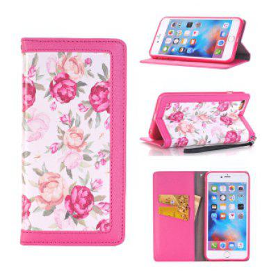 Painted Flip PU Leather Full Cover for iPhone 6 / 6S