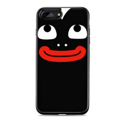 Interesting Expression Cartoon Design Cover Case for iPhone 7 Plus