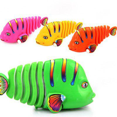 Lovely Fish Pattern Plastic Wind-up Toy