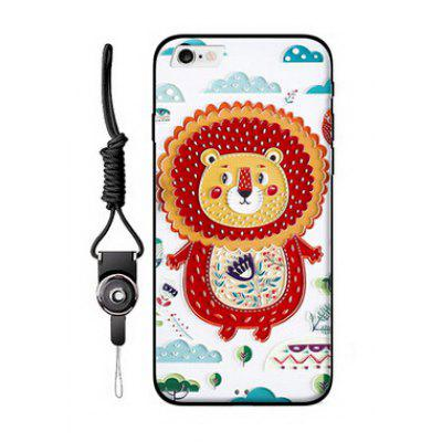 Relievo Cute Cartoon Mobile Shell for iPhone 6 / 6S