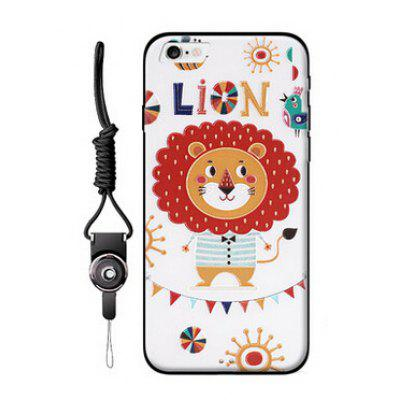 Popular Relievo Cartoon Mobile Shell for iPhone 6 / 6S