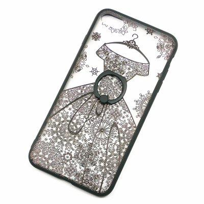 Wedding Dress Style 2 in 1 Ring Holder Case for iPhone 7 Plus