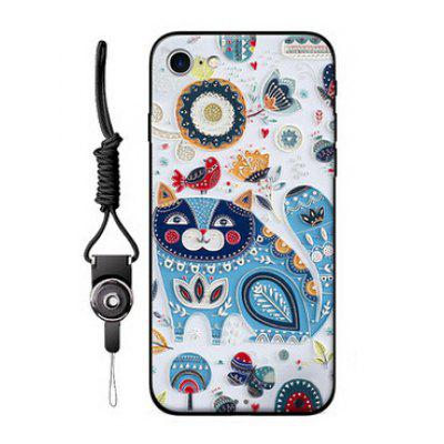 Cute Cartoon Pattern Mobile Shell for iPhone 7