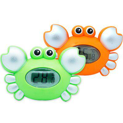 Cute Crab Pattern Baby Bath Floating Toy Tub ThermometerBaby Care<br>Cute Crab Pattern Baby Bath Floating Toy Tub Thermometer<br><br>Available Color: Green<br>Materials: Plastic<br>Package Contents: 1 x Tub Thermometer<br>Package Size(L x W x H): 12.40 x 17.00 x 6.30 cm / 4.88 x 6.69 x 2.48 inches<br>Package weight: 0.2400 kg<br>Product Size(L x W x H): 10.00 x 15.00 x 4.30 cm / 3.94 x 5.91 x 1.69 inches<br>Product weight: 0.2000 kg