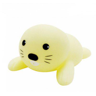 Cartoon Animal Squirt Stretchy Bath Toy of Sea Lion