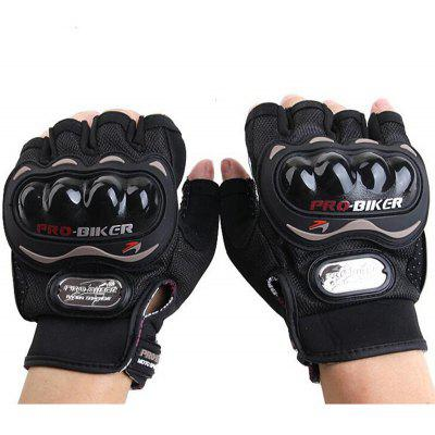 PROBIKER MCS   04C Motorcycle Racing Half finger Protective Gloves