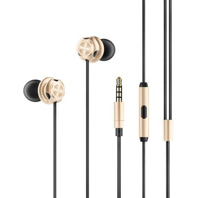 PICUN D2 Wired In-ear Power Bass Earphones with Mic