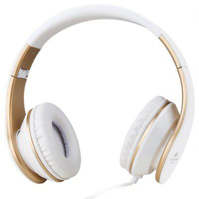 SoundIntone I65 Wired Foldable Stereo Headset with Mic