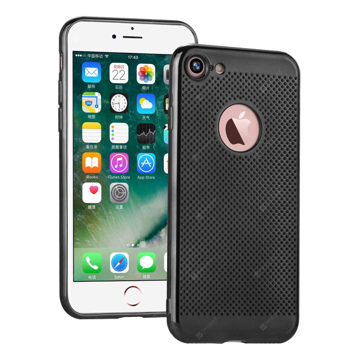 ASLING Electroplated Edges Design Cover Case for iPhone 7